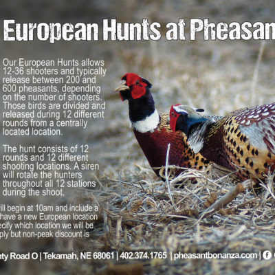 Hunting Events Flyer