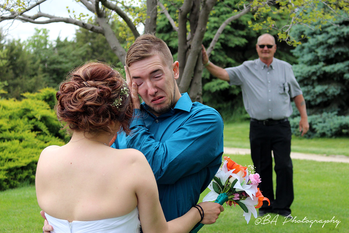 Tears from a Groom