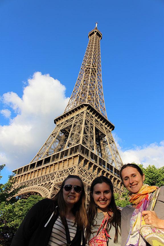 Eiffel Tower - Before