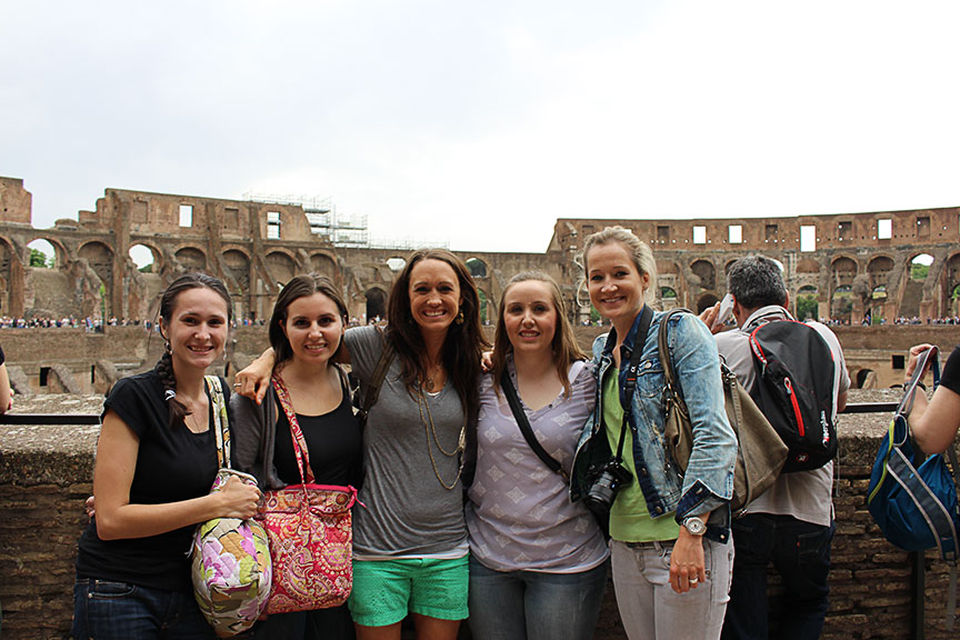 Inside the Colosseum - After