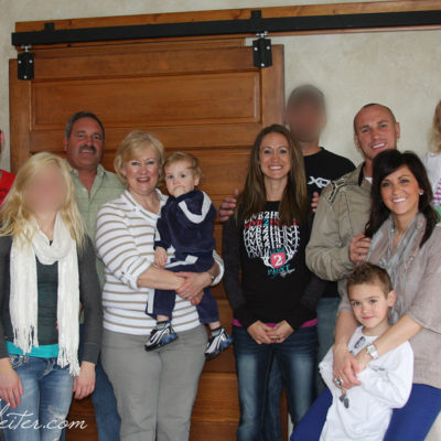 Family Portrait - Before